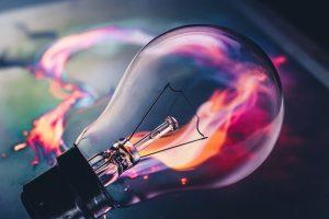 Bulb Idea Fire Flame Neon  - Dark_shutterz / Pixabay