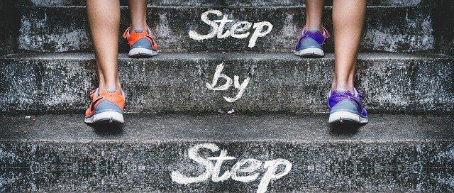 Stairs Gradually Feet Legs Success  - geralt / Pixabay