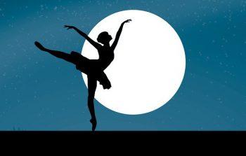 Ballerina Moon Silhouette Tiara  - mohamed_hassan / Pixabay