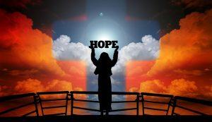 Woman Hope Clouds Sky Religion  - geralt / Pixabay